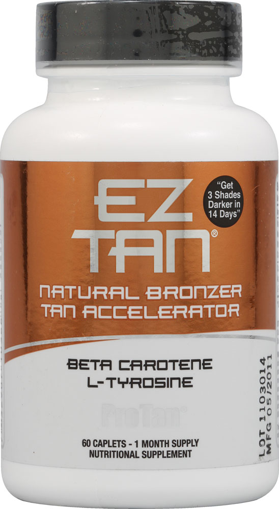 Автозагар E-Z Tan Natural Bronzer & Tan Accelerator (60 кап)