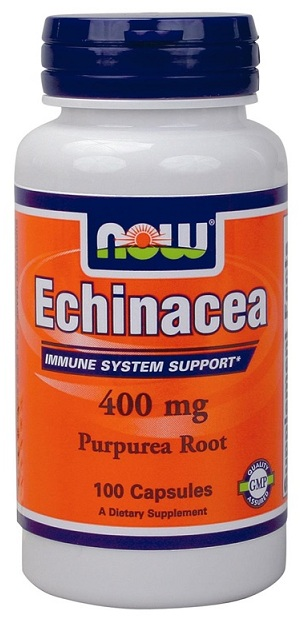 Echinacea 400 mg NOW (100 Capsules)