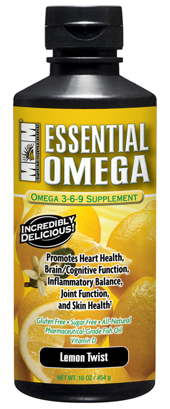 Essential Omega Fish Oil Max Muscle (454 мл)