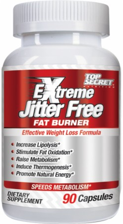 Extreme Jitter Free Fat Burner Top Secret Nutrition (90 кап)