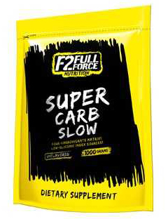 Super Carb Slow F2 Full Force Nutrition (1000 гр)