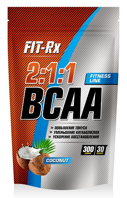 BCAA 2:1:1 FIT-Rx (300 gr)(EXP 18/09/2017)
