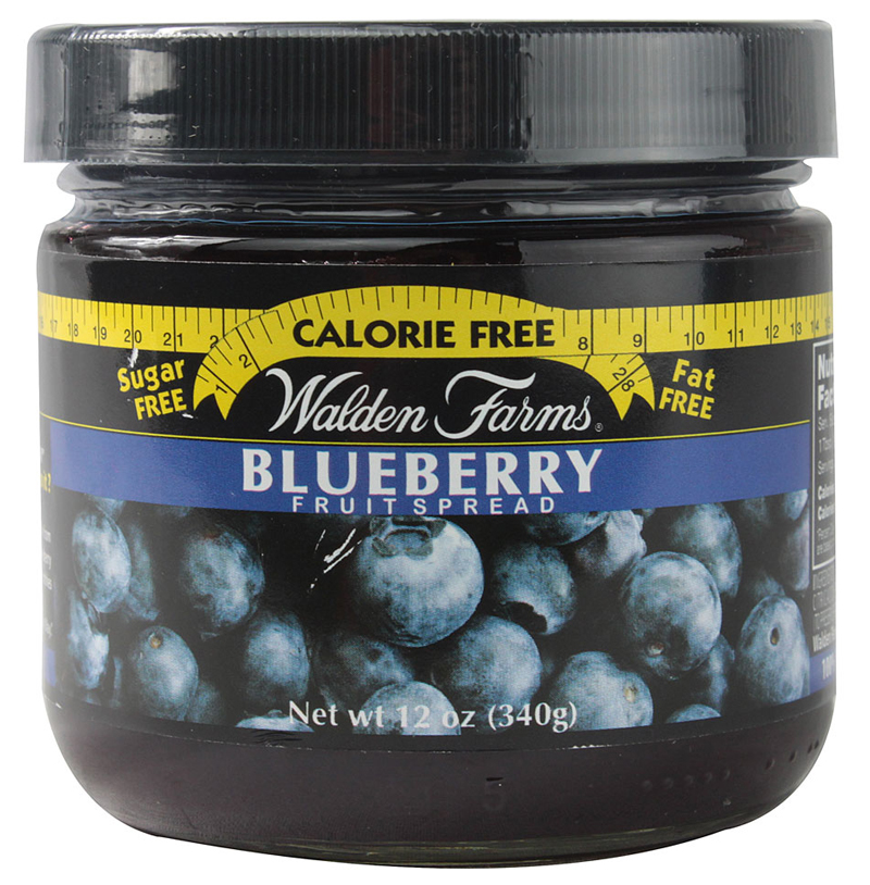 Blueberru Fruit Spread Walden Farms (340 g)