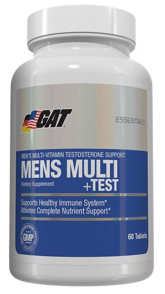 Mens Multi+Test GAT (60 кап)