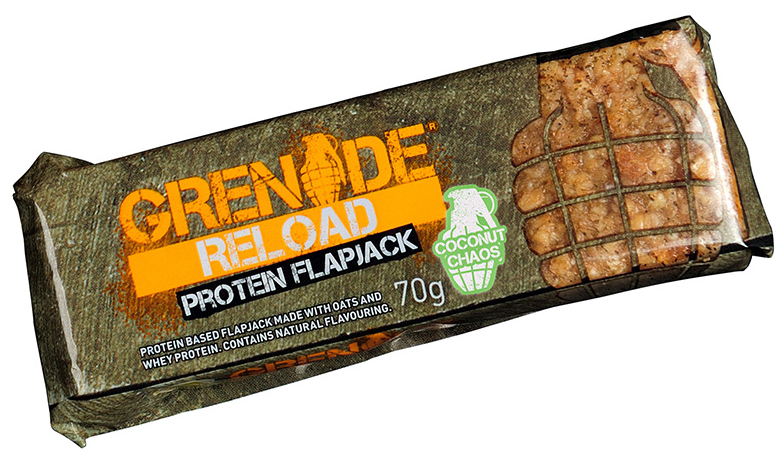 Grenade Reload Protein Flapjacks (70 гр)