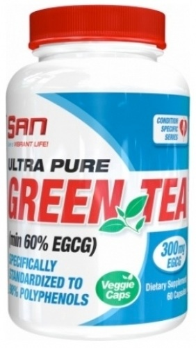 Ultra Pure Green Tea SAN (60 caps)