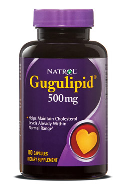 Gugulipid 500 mg Natrol (100 кап)(годен до 09/2018)