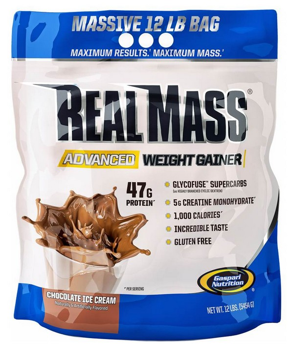 Real Mass Advanced Gaspari Nutrition (5454 гр)