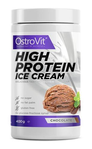 High Protein Ice Cream OstroVit (400 gr)