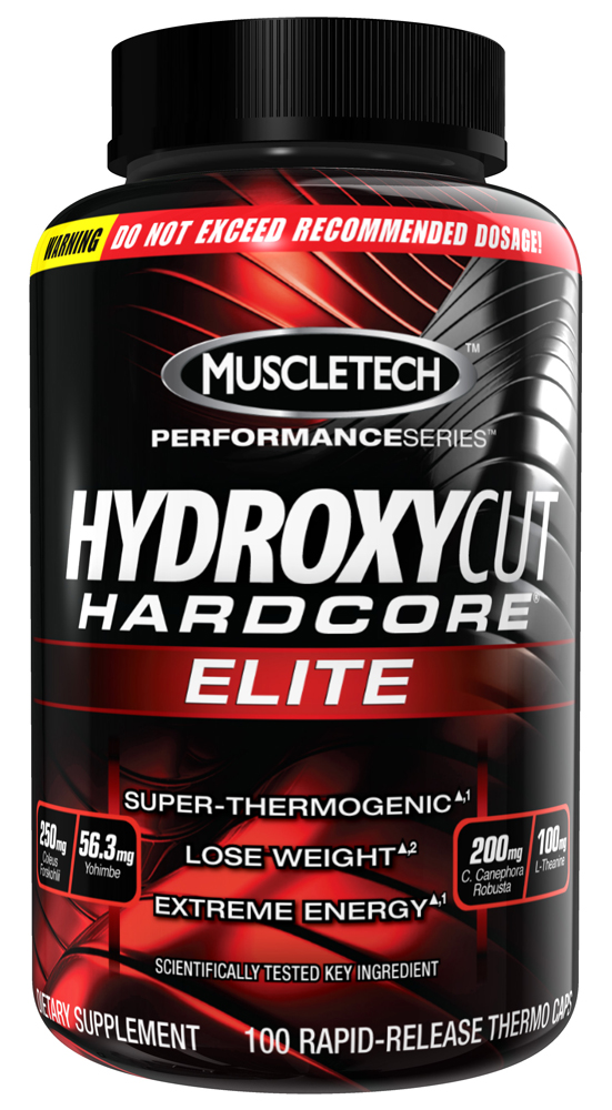 Hydroxycut Hardcore Elite MuscleTech (100 кап)