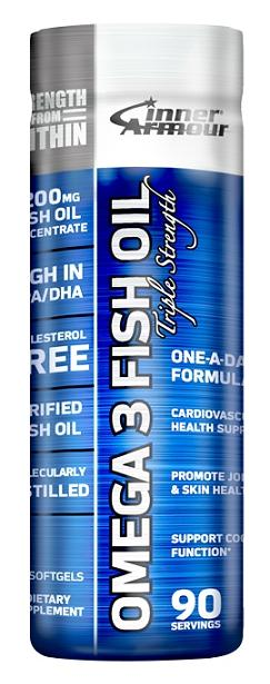 Omega 3 Fish Oil Inner Armour (90 Softgels)