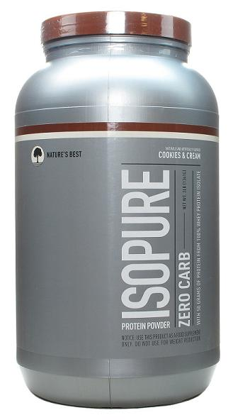 IsoPure Zero Carb Nature's Best (1361 гр)