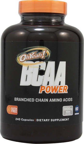 BCAA Power OhYeah! (240 кап)