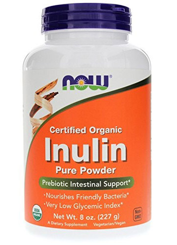 Inulin (Certified Organic) NOW (227 gr)