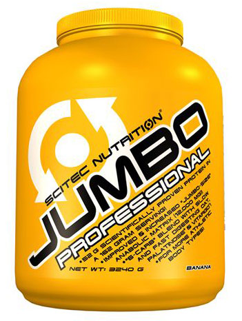 JUMBO PROFESSIONAL SCITEC NUTRITION (3240 gr)(EXP 01/2019)