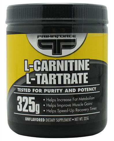 L-Carnitine L-Tartrate PrimaFORCE (325 гр)