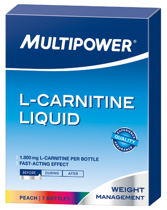 L-Carnitine Liquid Forte Multipower (7 амп x 1800 мг)