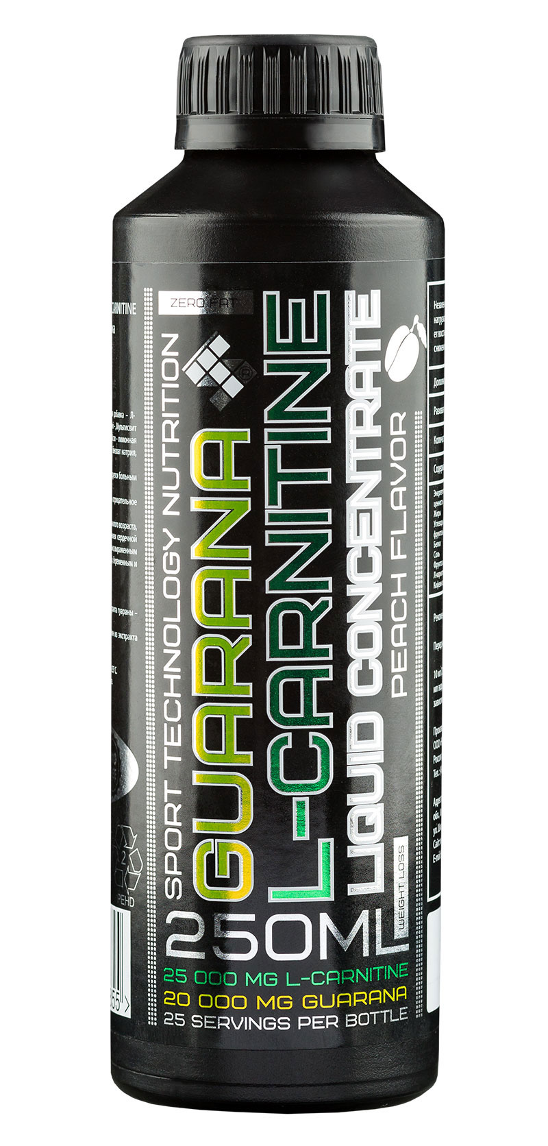 L-Carnitine + Guarana Liquid ST (250 ml)