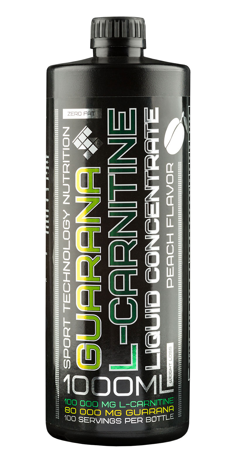 L-Carnitine + Guarana Liquid ST (1000 ml)