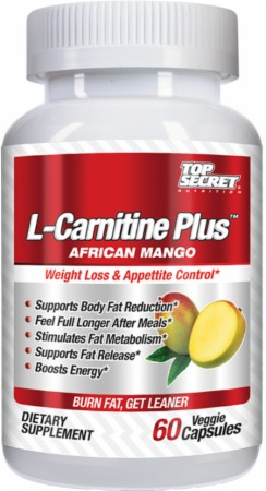 L-Carnitine Plus African Mango Top Secret Nutrition (60 кап)