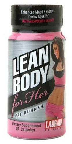 Lean Body Her Fat Burner Labrada Nutrition (60 кап)