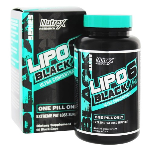 LIPO-6 Black Hers Ultra Concentrate Nutrex (60 кап)