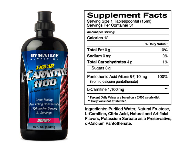 L-carnitine concentrate 100000 (1000мл)