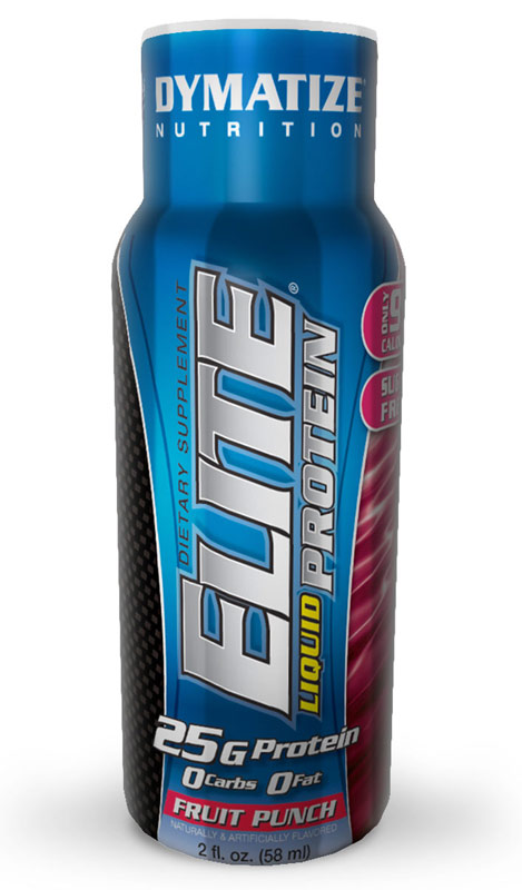 Elite Liquid Protein Dymatize (58 ml x 12)