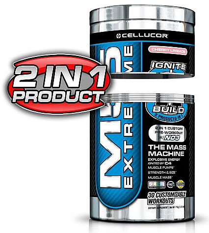 M5 Extreme 2-in-1 Cellucor (595,8-602,7 gr)