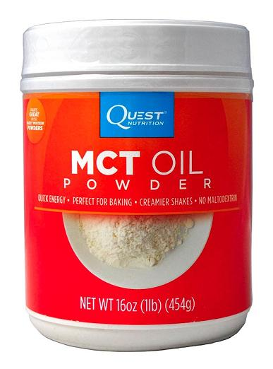 MCT Oil Powder Quest Nutrition (450 гр)