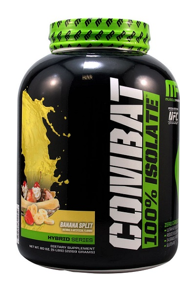 Combat 100% Isolate MusclePharm (2269 гр)
