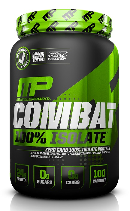 Combat 100% Isolate Sport Series MusclePharm (907 гр)