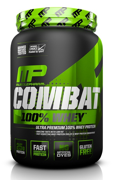 Combat 100% Whey Sport Series MusclePharm (907 гр)