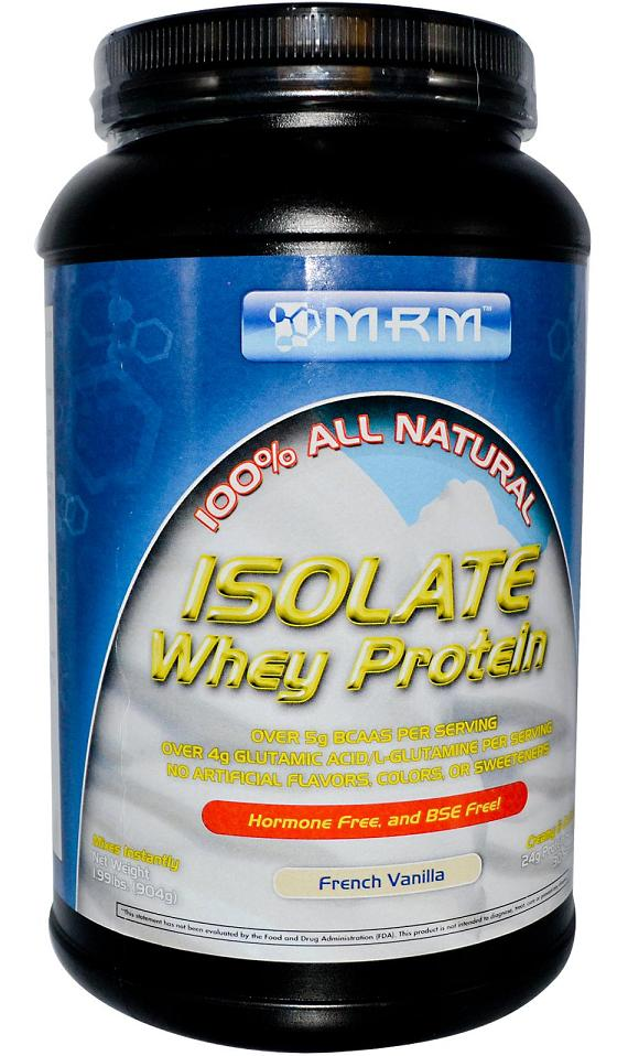 Isolate Whey Protein - 100% All Natural MRM (904-922 гр)