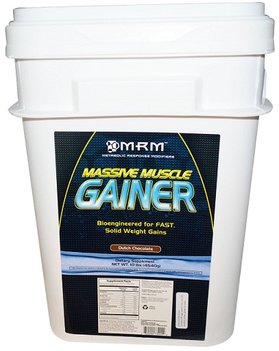 Massive Muscle Gainer MRM (4540 гр)(годен до 10/2016)