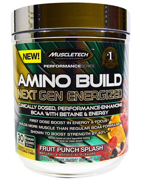 Amino Build Next Gen Energized Muscle Tech (280 гр)