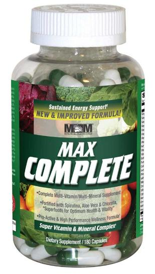 Max Complete Max Muscle (180 кап)