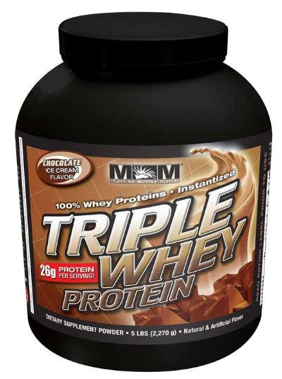 Triple Whey Protein Max Muscle (2268 гр)