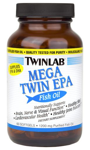 Mega Twin EPA Twinlab (60 softgels)