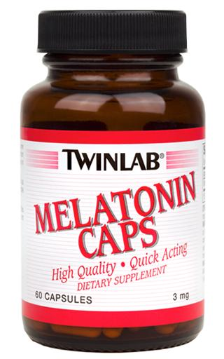 Melatonin Caps 3 mg Twinlab (60 кап)