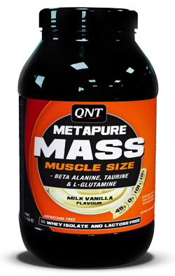 Metapure Mass+ QNT (1,1 кг)(годен до 07/2017)
