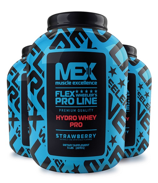 Hydro Whey Pro MEX Nutrition (2270 gr)(EXP 01/2019)