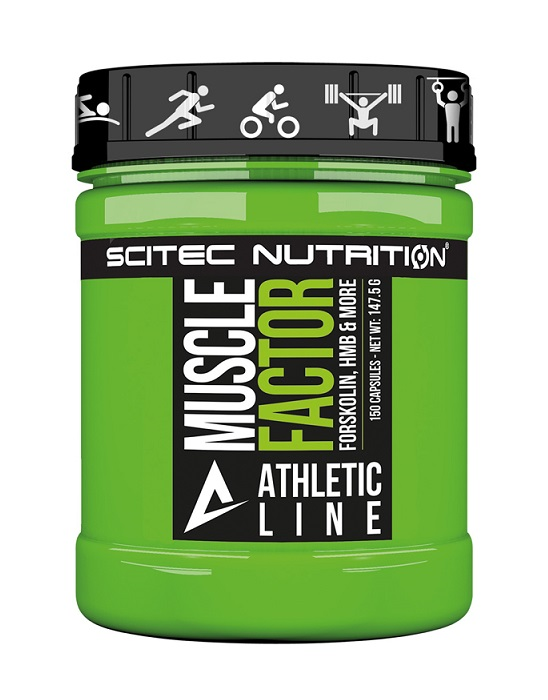 Muscle Factor Athletic Line Scitec Nutrition (150 кап)