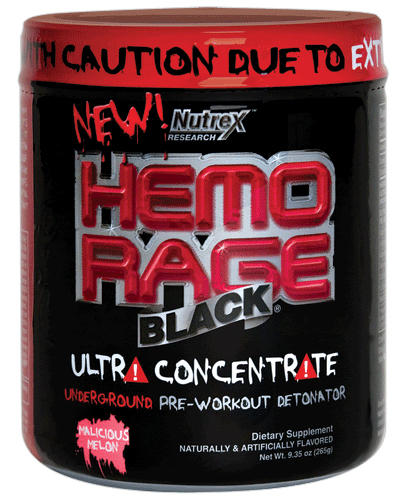 Hemo-Rage Black Ultra Concentrate (233-294 гр)(годен до 08/2016)