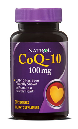 CoQ-10 100 mg Natrol (30 softgels)