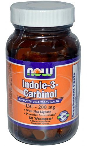 Indole-3-Carbinol NOW (60 вегетарианских капсул)