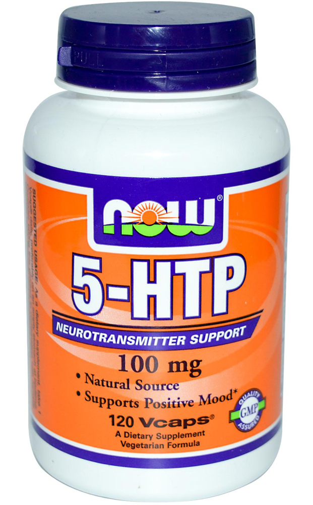 5-HTP 100 mg NOW (120 кап)