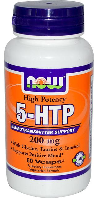 5-HTP 200 mg NOW (60 Vcaps)