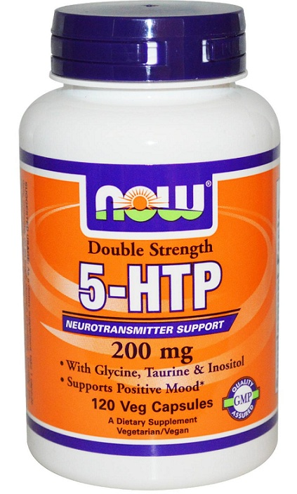 5-HTP 200 mg NOW (120 Vcaps)