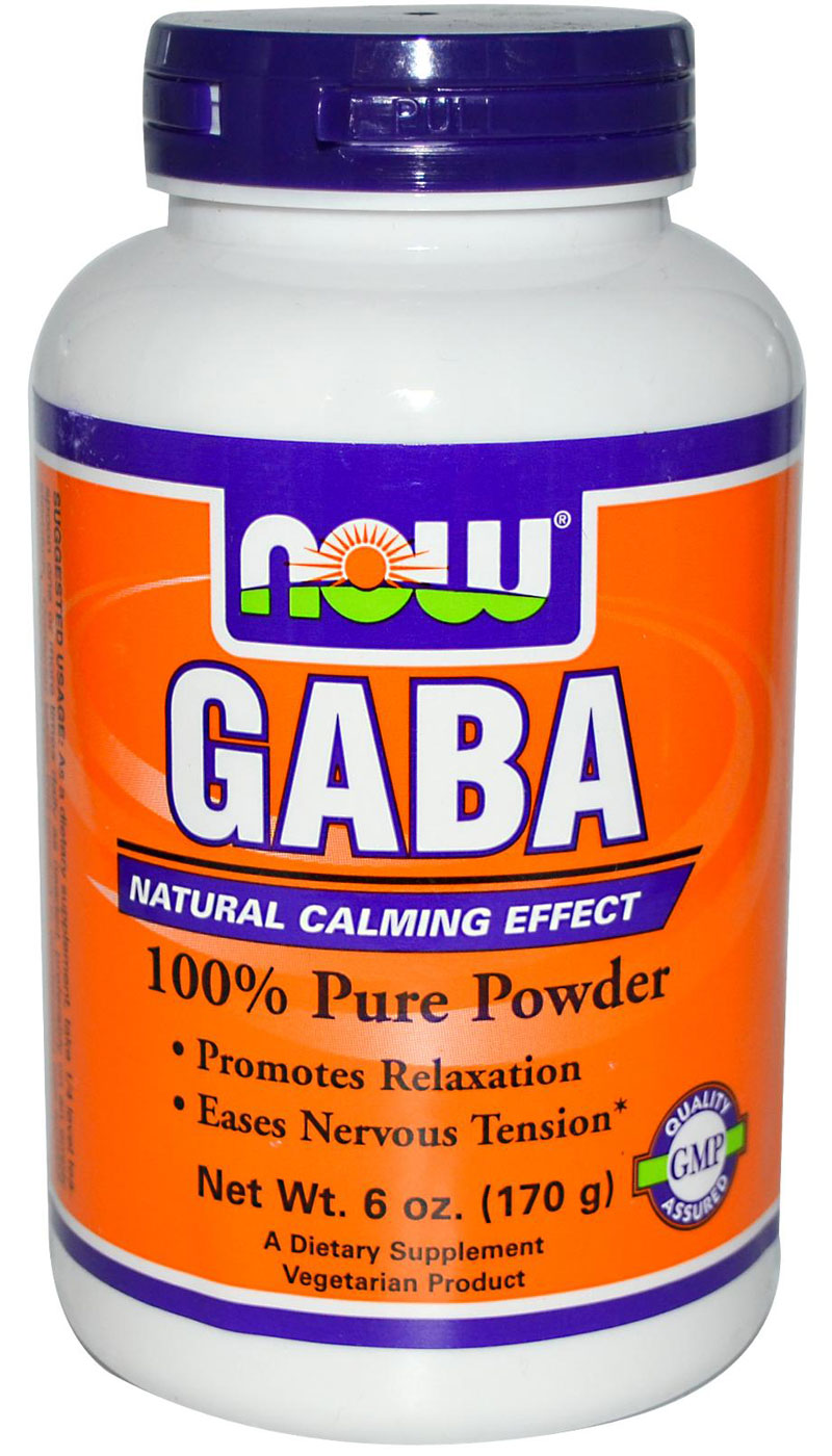 GABA Powder NOW (170 gr)